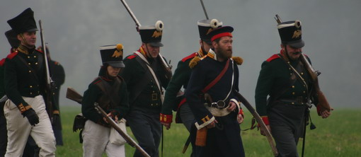 Historische Schlachtnachstellung